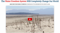 Water Freedom System Review 2020 - Opportunity To Make Your Own Water Generator